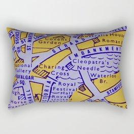 Streets of London Rectangular Pillow