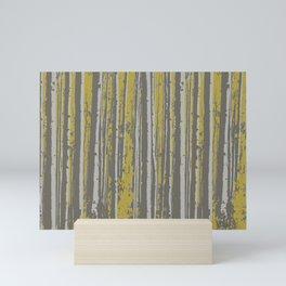Birch in the Sun Mini Art Print