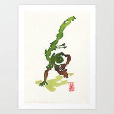 Capoeira 359 Art Print