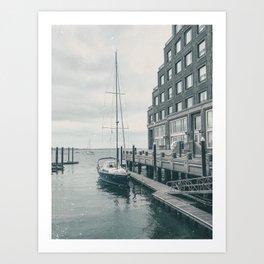 Boston, MA. 2020 Art Print