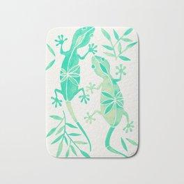 Geckos – Mint Palette Bath Mat