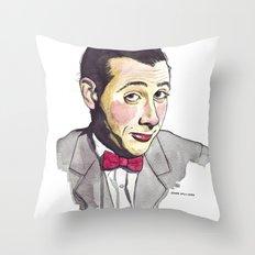 Pee Wee Throw Pillow
