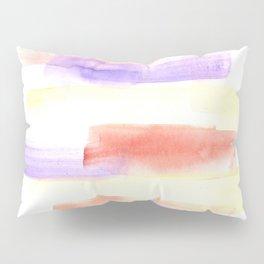 170527 Back to Basic Pastel Watercolour 15   Modern Watercolor Art   Abstract Watercolors Pillow Sham