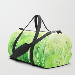 Beautiful Forest Duffle Bag