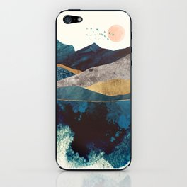 Blue Mountain Reflection iPhone Skin