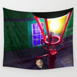 Let There Be Gaslight Wall Tapestry