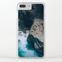 Run With Me Clear iPhone Case