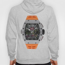 Richard Mille 11-02 Titanium Flyback Chronograph Dual Time Zone 50MM Watch Hoody