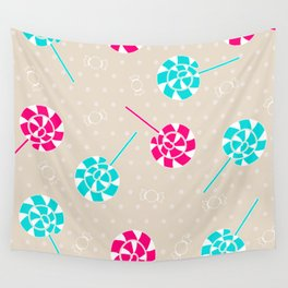 Lollipop obsession Wall Tapestry