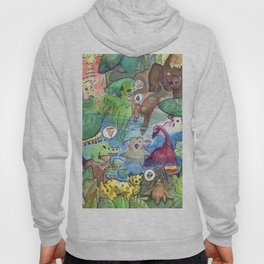 Kawaii pool party Hoody