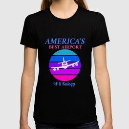 Best Airport: W K Kellogg  T-shirt