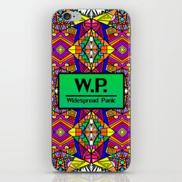 WP - Widespread Panic - Psychedelic Pattern 1 iPhone Skin