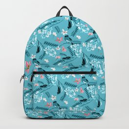 Vintage Cassia birds Backpack