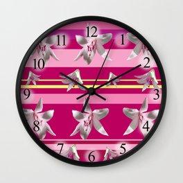 Floral Joy Wall Clock