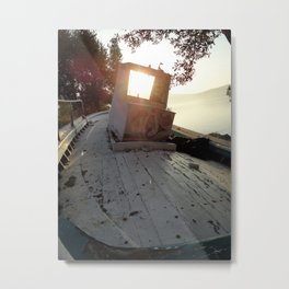 Deck Metal Print