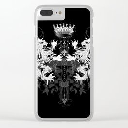 Heraldic coat of arms Clear iPhone Case