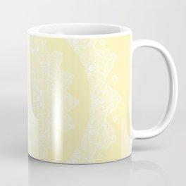 Mandala Yellow Lace Bohemian Décor Coffee Mug