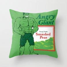 Not So Jolly Throw Pillow