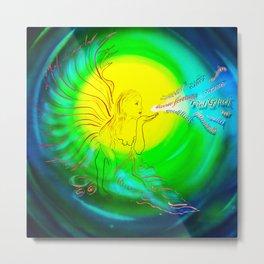 Lucky Angels- Good Luck Metal Print