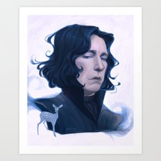 Always Snape Art Print