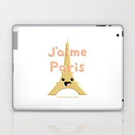 J'aime Paris Cute Eiffel Tower Laptop & iPad Skin