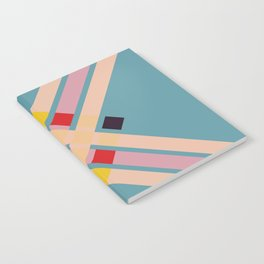 Mullo - Colorful Decorative Abstract Art Pattern Notebook