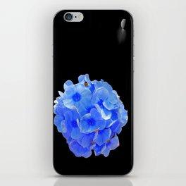Enceladus' Garden of Blue Flowers iPhone Skin