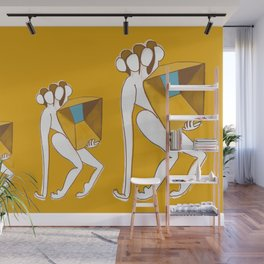 Lift me Up in Yellow Wall Mural