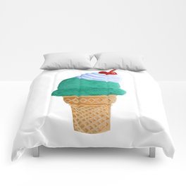 Ice Cream Cone Comforters