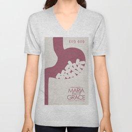 Maria Full of Grace, alternative movie poster, classic film, Joshua Marston, colombian, drug dealer Unisex V-Neck