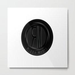 Riggo Monti Design #2 - Riggo Emblem (Wht. Bkgrnd.) Metal Print