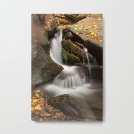 Crescent Crater Falls Metal Print