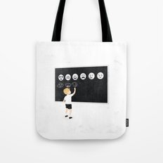 Learning new media Tote Bag