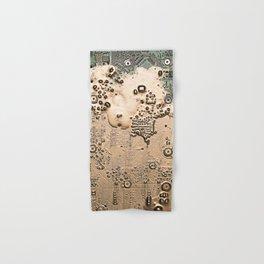 Golden Circuit Hand & Bath Towel