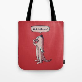Fancy Otter Tote Bag