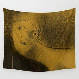 Winters Hymn: Part 199, Digital Drawing Wall Tapestry