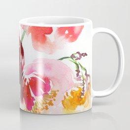 little garden with peonies Coffee Mug