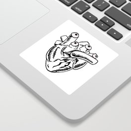 Heart Eyes Sticker