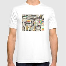 VHS SMALL Mens Fitted Tee White