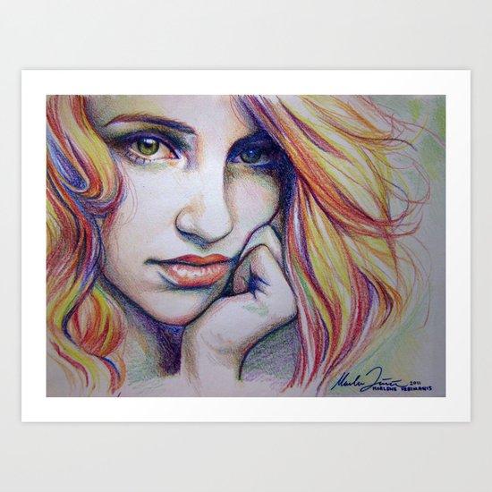 crayolagron Art Print
