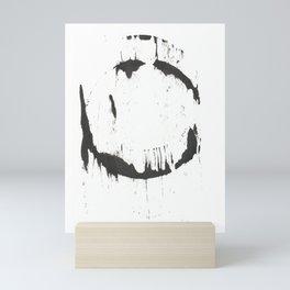 Ink Circle (8.24) Mini Art Print