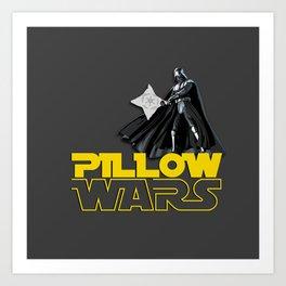 Pillow WARS Art Print