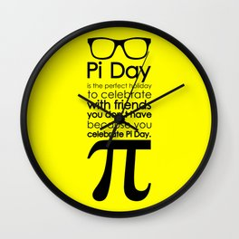 Pi Day 3 Wall Clock