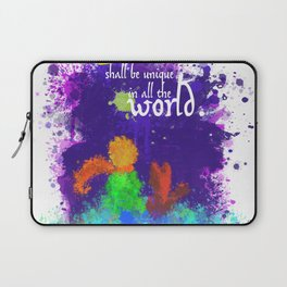 The Little Prince | Quotes | But if you tame me, then we shall need each other. Part 3 of 3 Laptop Sleeve