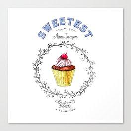 Maffin - Sweetest Canvas Print