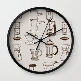 Brew Wall Clock