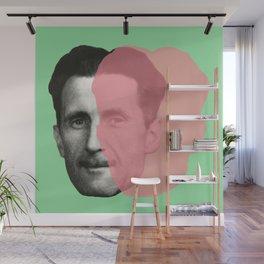 George Orwell Wall Mural