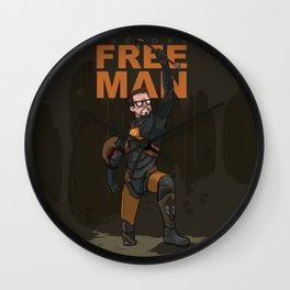 The One Free Man Wall Clock