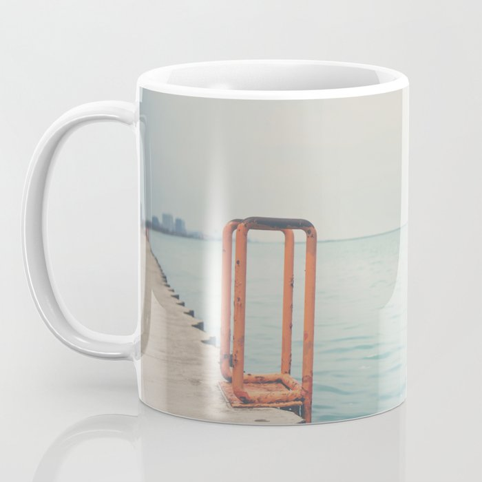 the orange steps ... Coffee Mug