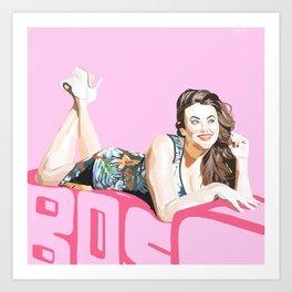 Adrianna Art Print